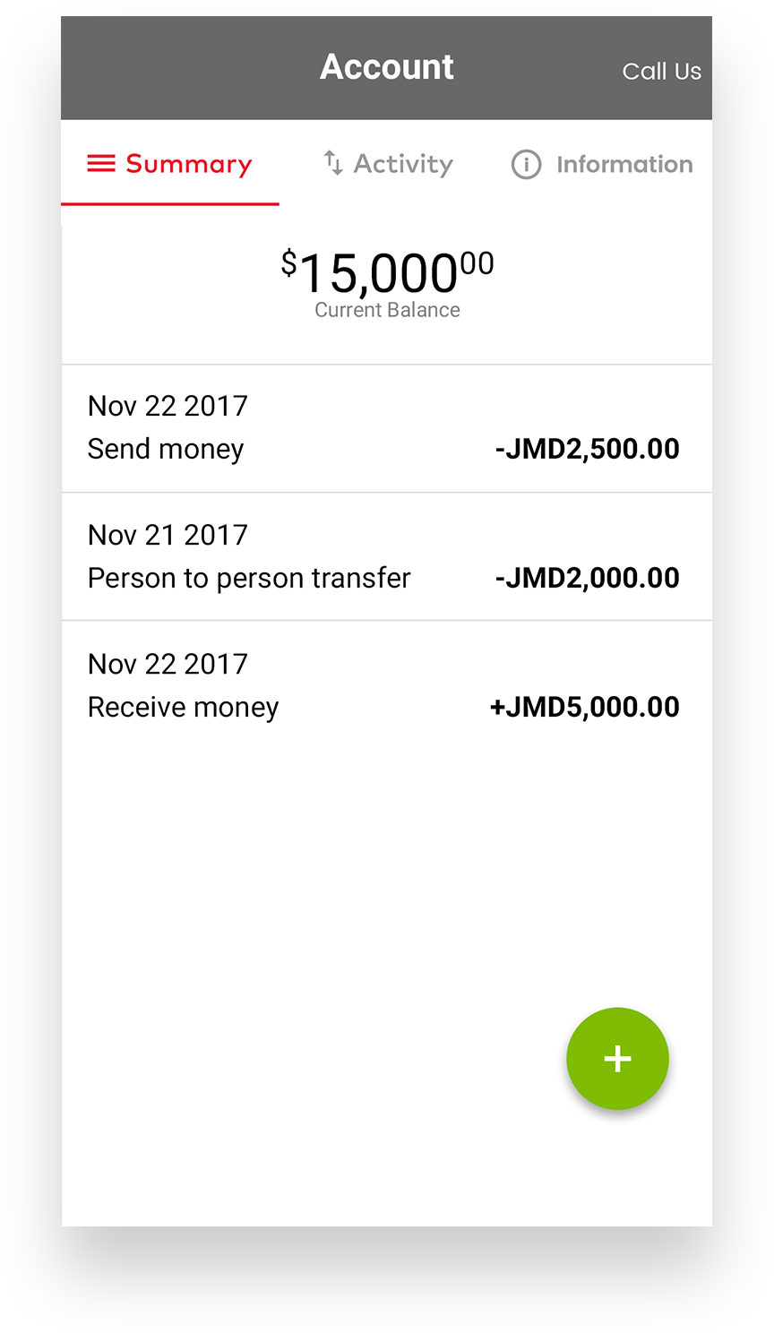 Demo of how to manage money with MyCash